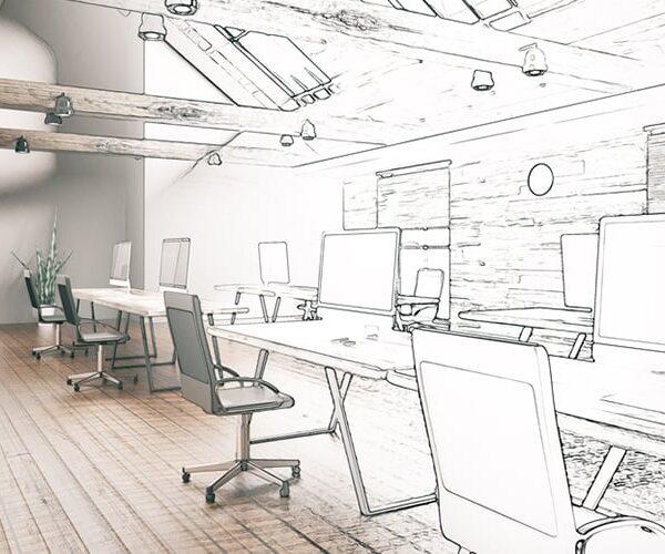 طراحی و اجرای دفتر کار